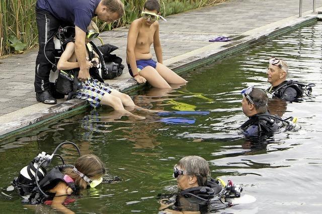 Erlebnis unter Wasser