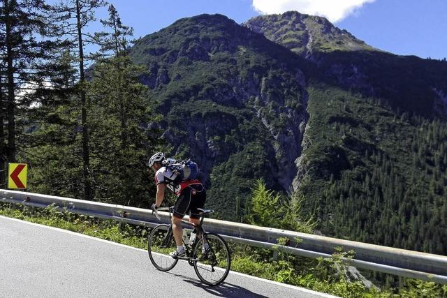 Mit dicken Schenkeln in zwei Tagen nach Tirol
