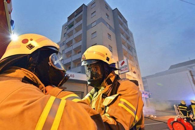 Wie schwierig ist das Löschen von Hochhausbränden?