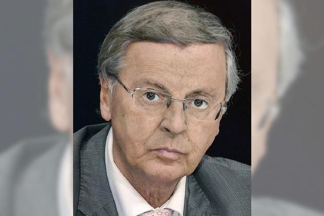 Wolfgang Bosbach kandidiert nicht mehr für Bundestag