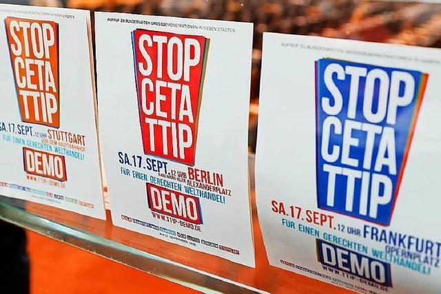 Ceta bringt SPD-Chef Sigmar Gabriel in Not