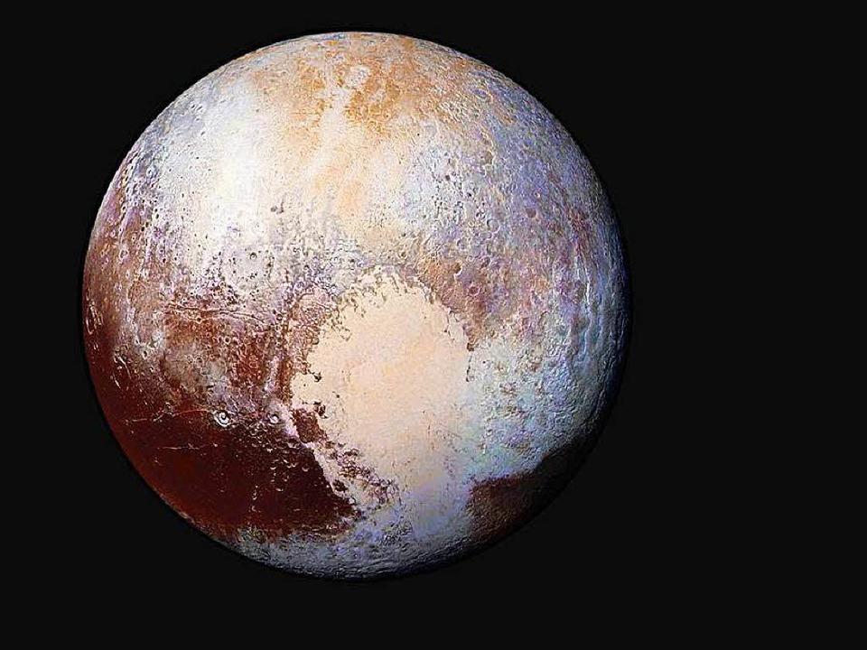 Eine Aufnahme von Pluto, gemacht von  der Sonde New Horizon  | Foto: dpa