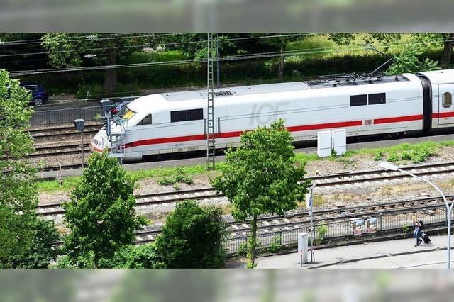 Bahn tauscht Lokführer aus, dessen ICE nicht in Freiburg gehalten hat