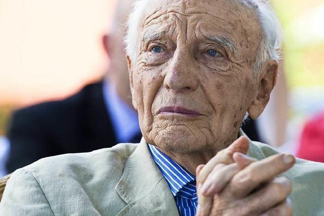 Ex-Bundespräsident Walter Scheel stirbt in Bad Krozingen