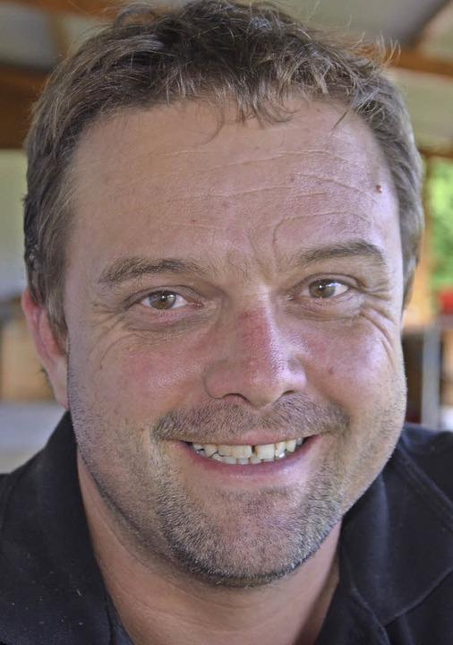 Michael Frey, seit 2016 Vorsitzender des FC Huttingen    Foto: Schopferer