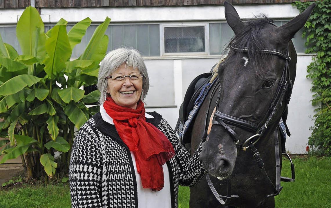 Dorothea Tibi, Vorsitzende des RV Lahr... leidenschaftlich für den Pferdesport.    Foto: ARCHIV: BETTINA SCHALLER