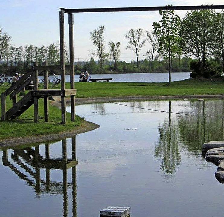 Der Spielplatz am Burgerwaldsee ist Tr...reizeitareals gesprochen werden soll.   | Foto: Gerald Greschel