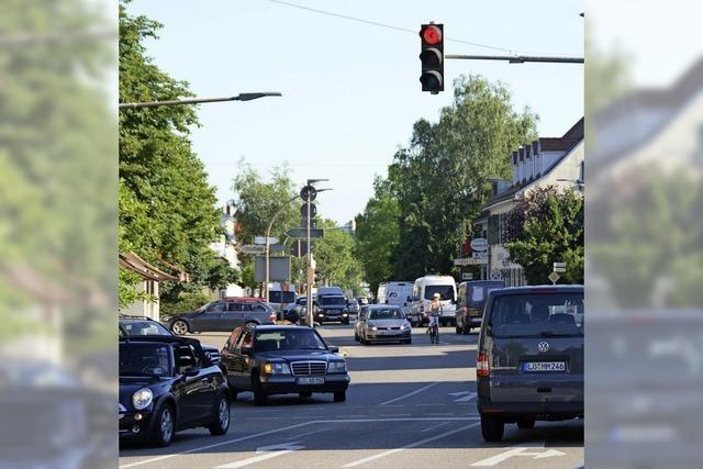 Künftig mit Tempo 30 durch Haltingen und in Friedlingen