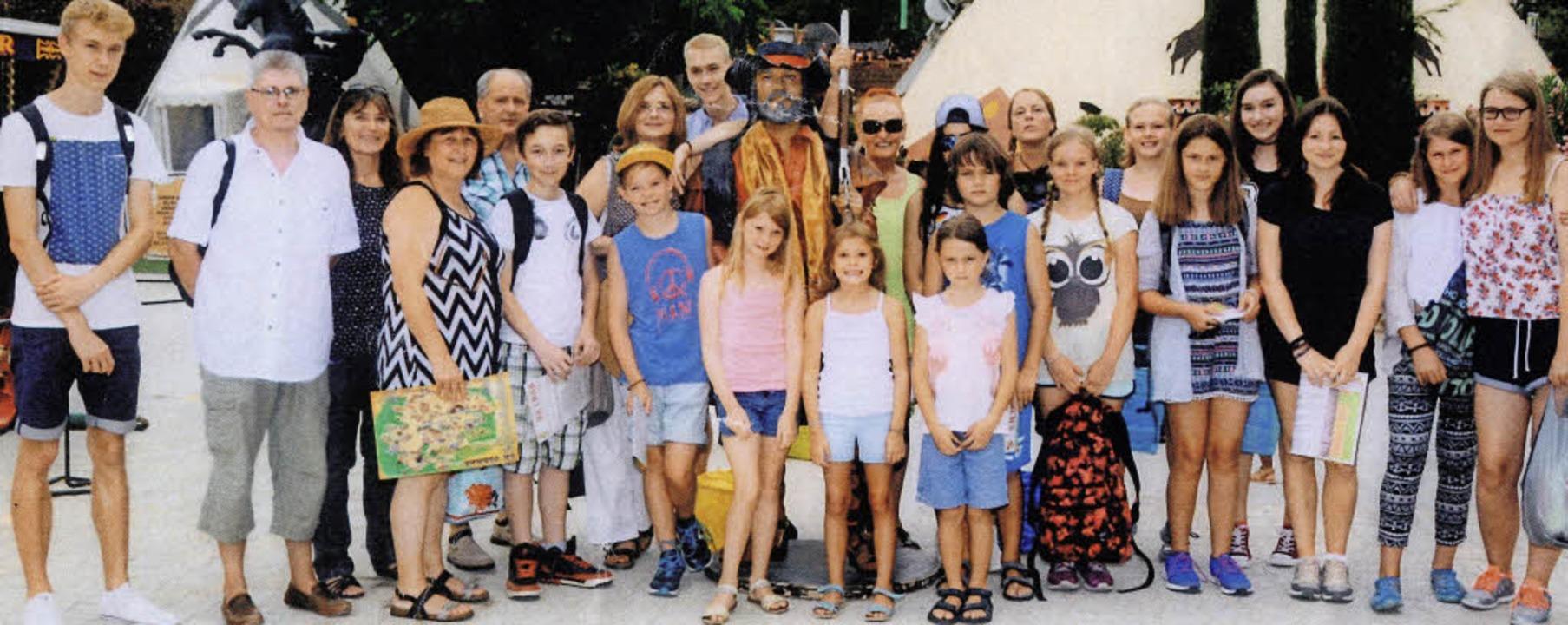 Ein volles Programm hatte die Gruppe a...nergemeinde Le Castellet zu Besuch war  | Foto: privat