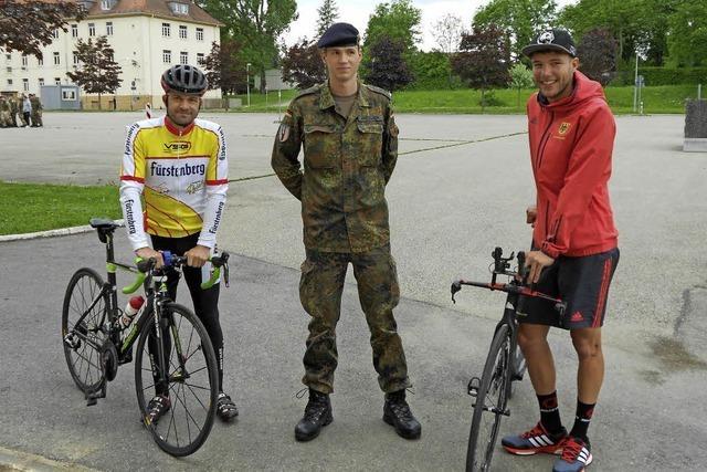 RSC Donaueschingen veranstaltet Radrennen auf dem Kasernengelände