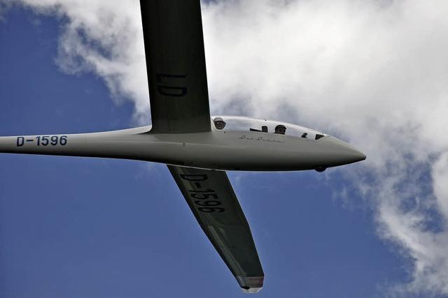 Wehrer Pilot fliegt am weitesten und schnellsten