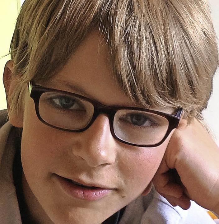 Janik Janzing, geboren am 28.8.2002      Foto: Privat