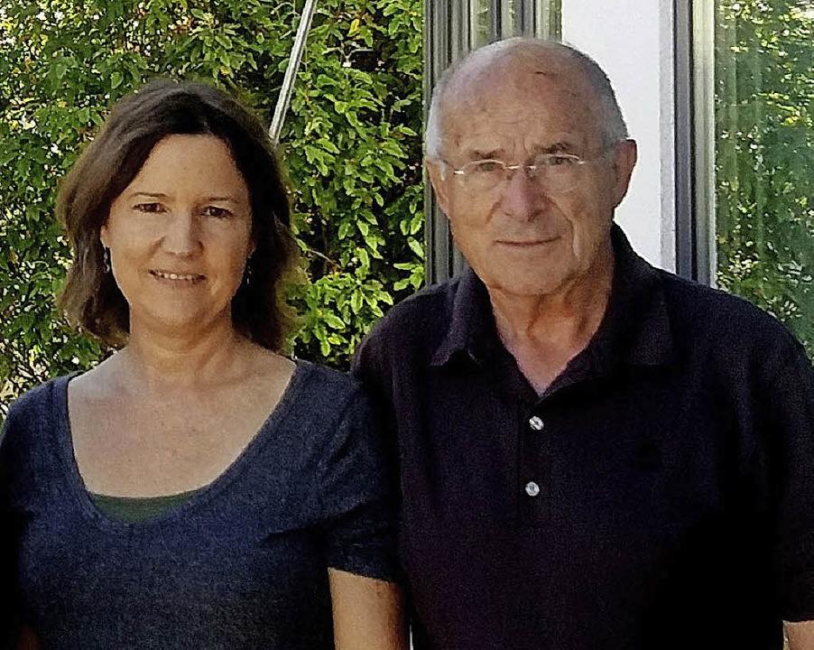 Dieter Ohmberger zeigte Jennifer Conkwright Denzlingen.  | Foto: Privat