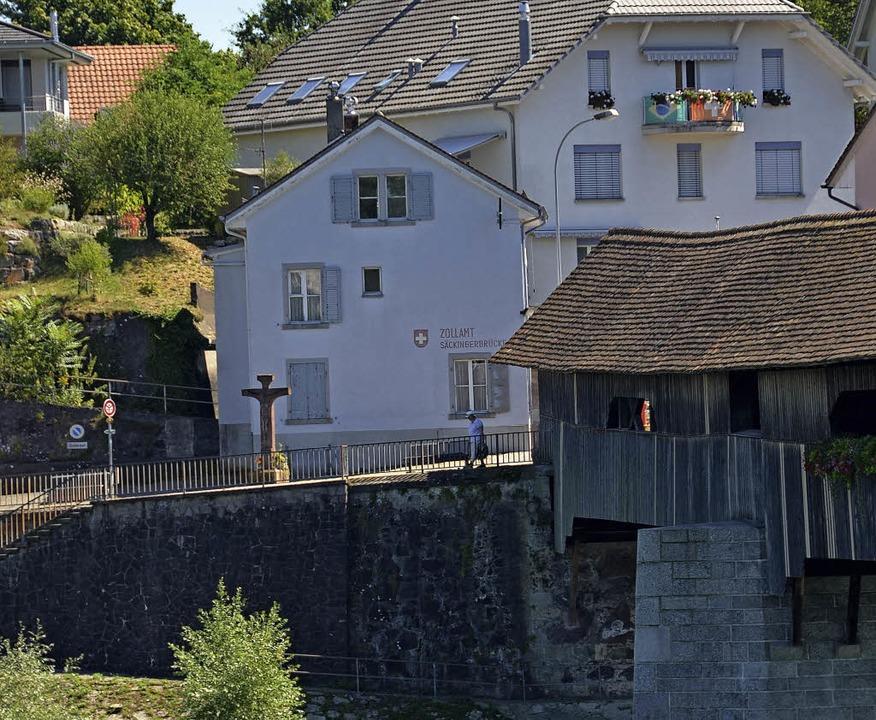 Das Zollhaus in Stein soll aufgewertet werden.     Foto: Anika Maldacker