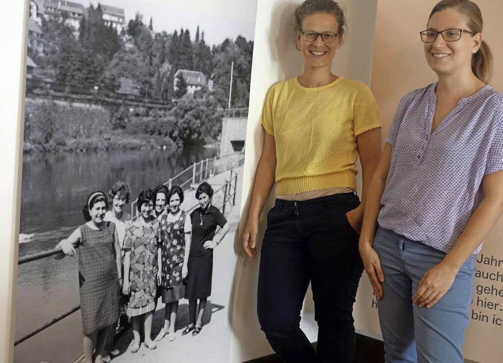 Geschichten von Migranten aus Leonfort...sstellung im Museum Schiff aufgespürt.    Foto: Roswitha Frey