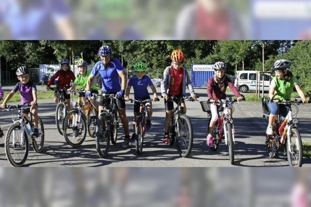 Mountain-Bike-Trainer gibt Tipps