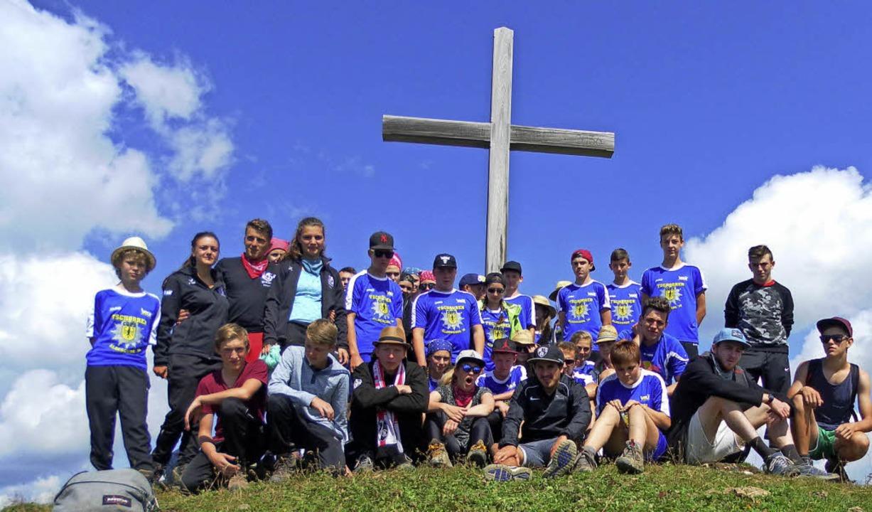 Gipfelstürmer: Die Medaillenausbeute 2016 der KjG war beachtlich.    Foto: KjG