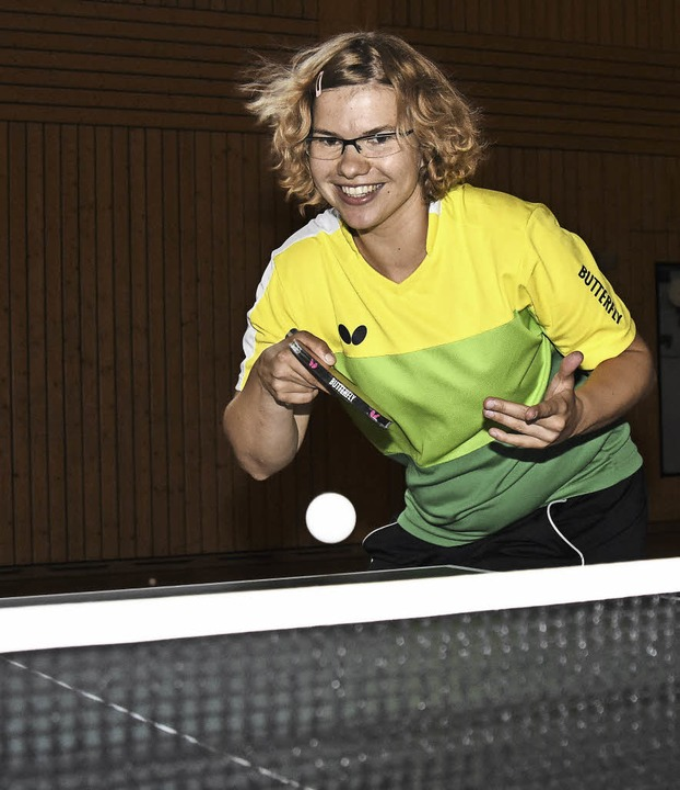 Juliane Wolf im Training   | Foto: Sebastian Köhli