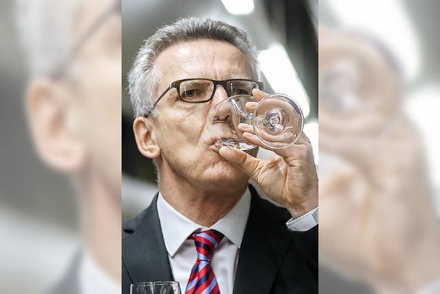 De Maizière weist die Kritik an Konzept zum Zivilschutz zurück