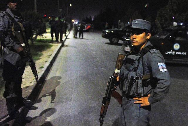 Blutiges Ende der Attacke auf Amerikanische Universität in Kabul