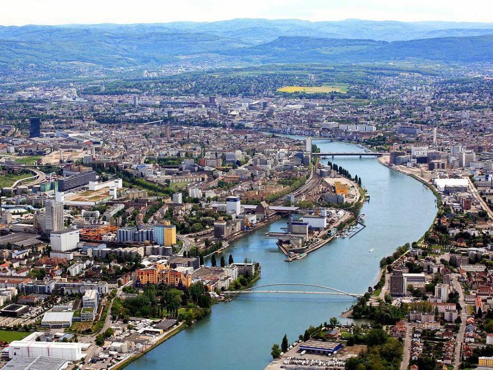 Das  Dreiland am Rheinknie – hie...11; könnte noch enger zusammenwachsen.  | Foto: Erich Meyer