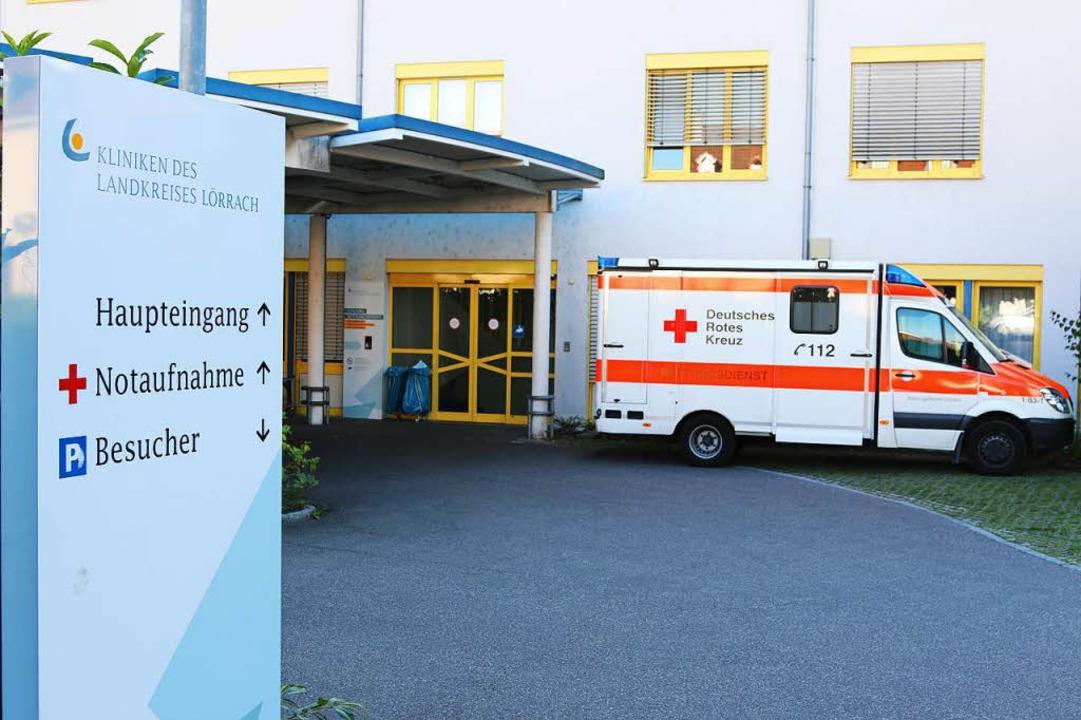 Die vielen Notfälle, die keine sind, ü... die Notaufnahme im Kreiskrankenhaus.   | Foto: Katharina Bartsch