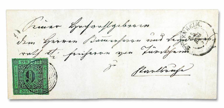 Am 25. August 1851 in Ettenheim abgest... war, gibt es heute nur noch dreimal.     Foto: Repro: Wolfgang Hoffmann