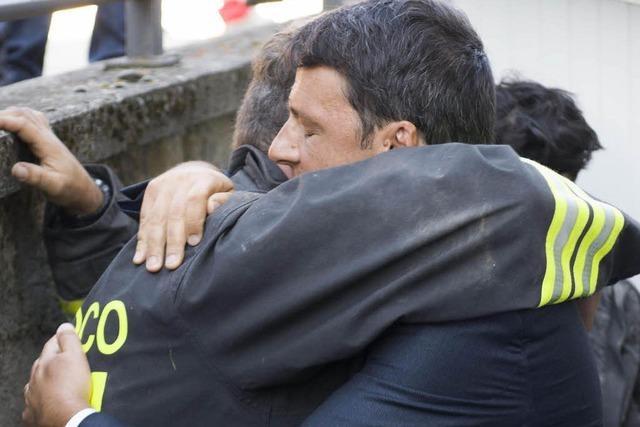 Fast 250 Tote nach Erdbeben in Mittelitalien