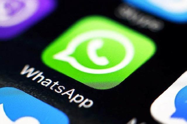 Welche Daten WhatsApp künftig mit Facebook teilen wird