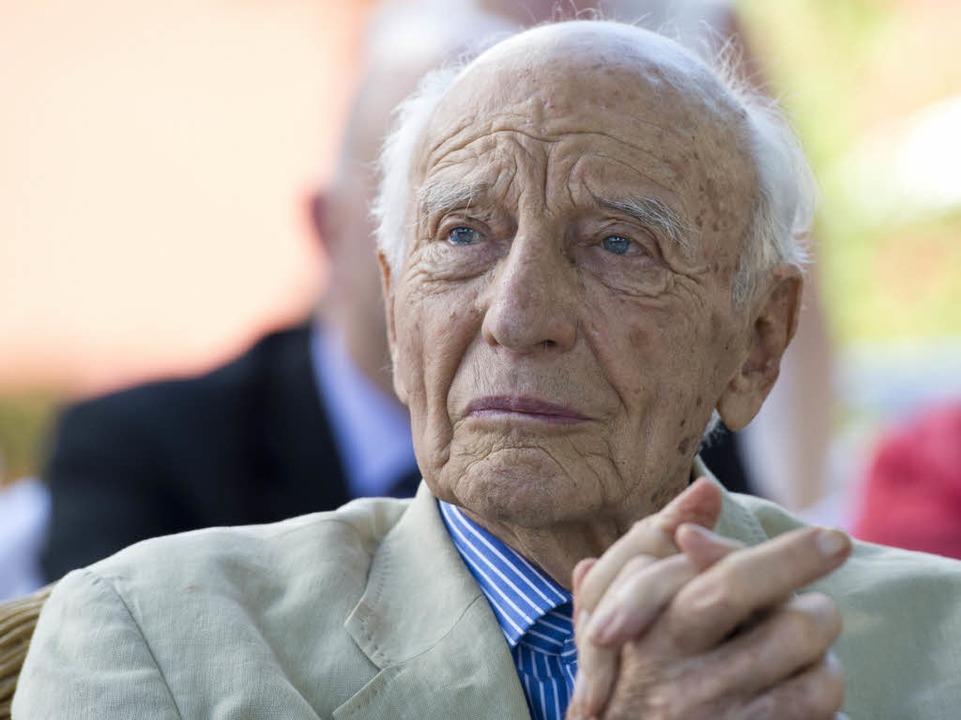 Walter Scheel starb am Mittwoch im Alter von o97 Jahren.    Foto: dpa