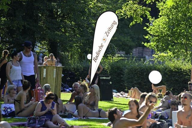 Freiburger Sommer im Lorettobad