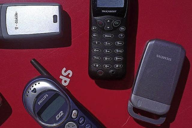 Handys sammeln für die Umwelt