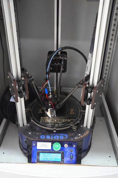 Die erste Maschine Marke Eigenbau ist immer noch im Einsatz.    Foto: Mark Alexander