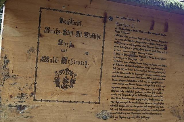 Wie Fürstabt Martin Gerbert vor 250 Jahren den Wald rettete