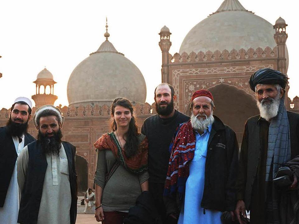 Gwen Weisser und Patrick Allgaier in Lahore, Pakistan  | Foto: Patrick Allgaier