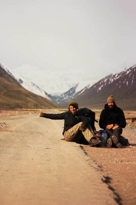 Trampen auf 3000 Metern Höhe in Tadschikistan  | Foto: P. Allgaier