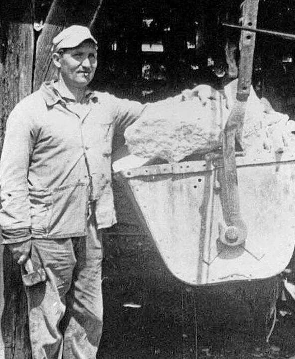 Ein bedeutender Industriezweig war der...karbeiter Hugo Fürderer aus Unadingen.  | Foto: Privat