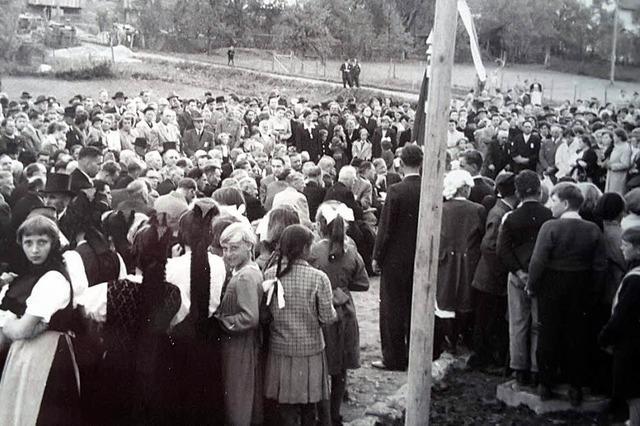 Vor sechzig Jahren wurde die Schule mit einem großen Fest eingeweiht