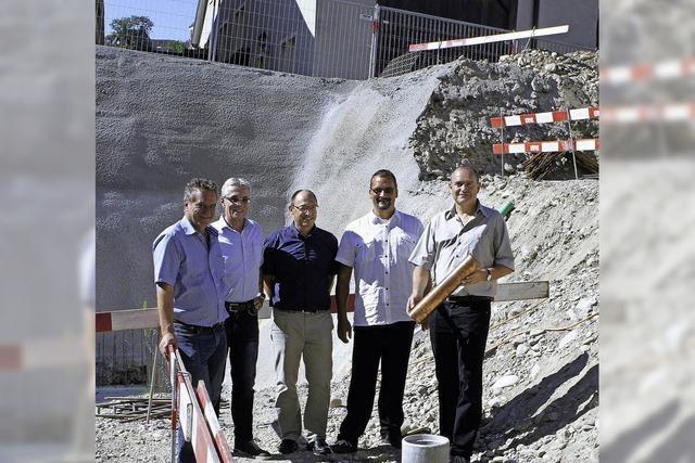 Grundstein für 5-Millionen-Franken-Projekt ist gelegt