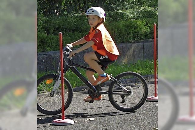 Spielerisch zum sicheren Radfahren