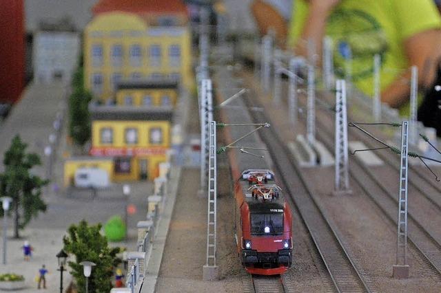 Modelleisenbahnclub Dreiländereck zeigt seine Anlage im alten Suchard-Gebäude