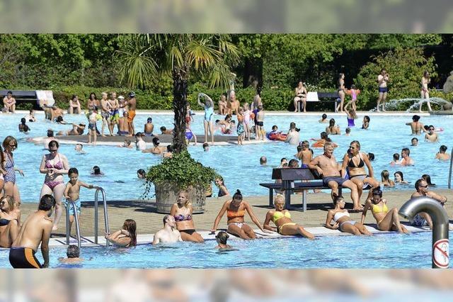 Bilanz von Freiburgs Schwimmbädern ist so durchwachsen wie das Wetter war