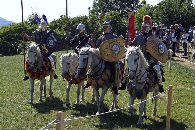 Römerfest fesselt trotz der Hitze