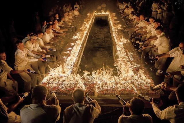 72 000 Kerzen auf Kuchen entzündet