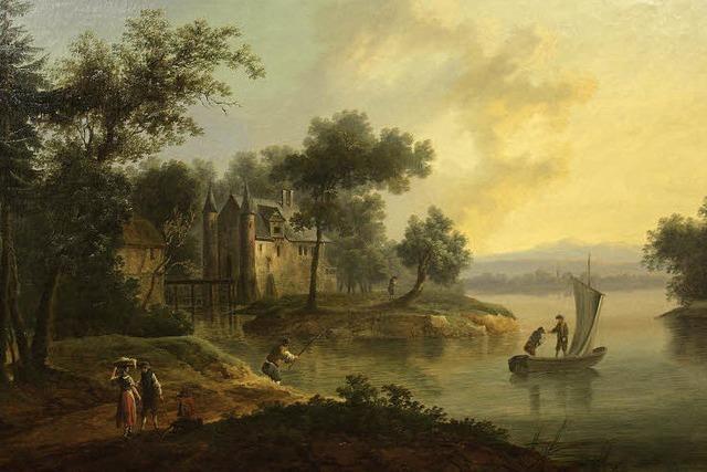 Seltene Ansichten vom Wasserschloss