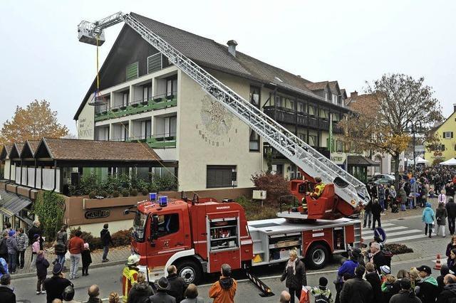 Tribut an den besseren Brandschutz