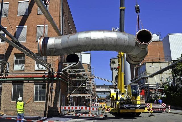 Bei Solvay geht der Rückbau weiter - Chemieunternehmen demontiert Filter-Tow-Spinnerei