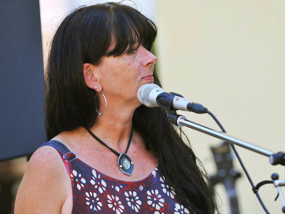 Daniela Botos mit der Lizenz zum Groove.  | Foto: Wolfgang Scheu