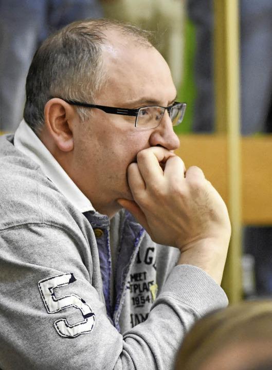 Michael Bohn, der Ex-Bundesligaspieler...eier Handballern die Klasse erhalten.   | Foto:  Sebastian Köhli