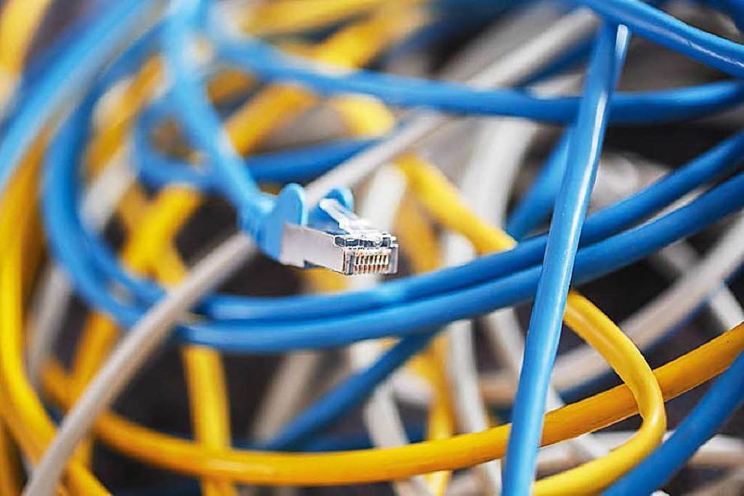 Zeichnen eine gute Infrastruktur aus: schnelle Datennetze  | Foto: DPA